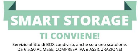 Offerta smart storage Milano, prezzi bassi