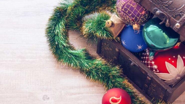Come riporre correttamente le decorazioni di Natale