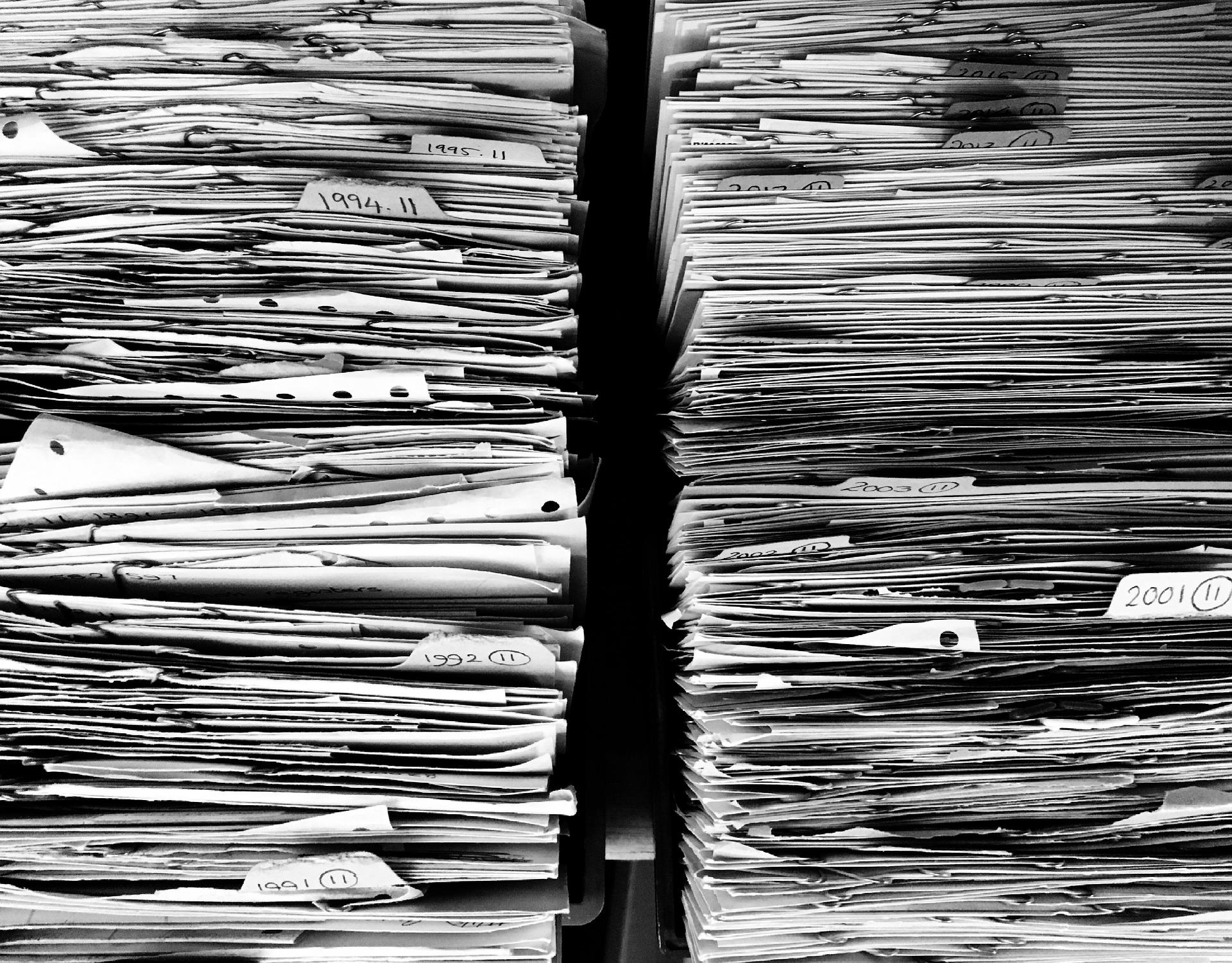 Archiviazione documenti cartacei: l'aiuto che ti serve!