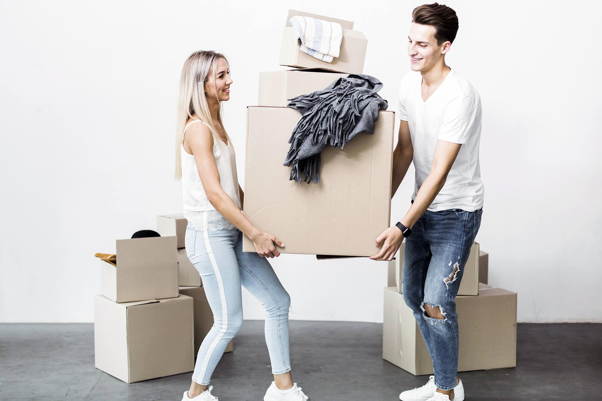 magazzino temporaneo mobili